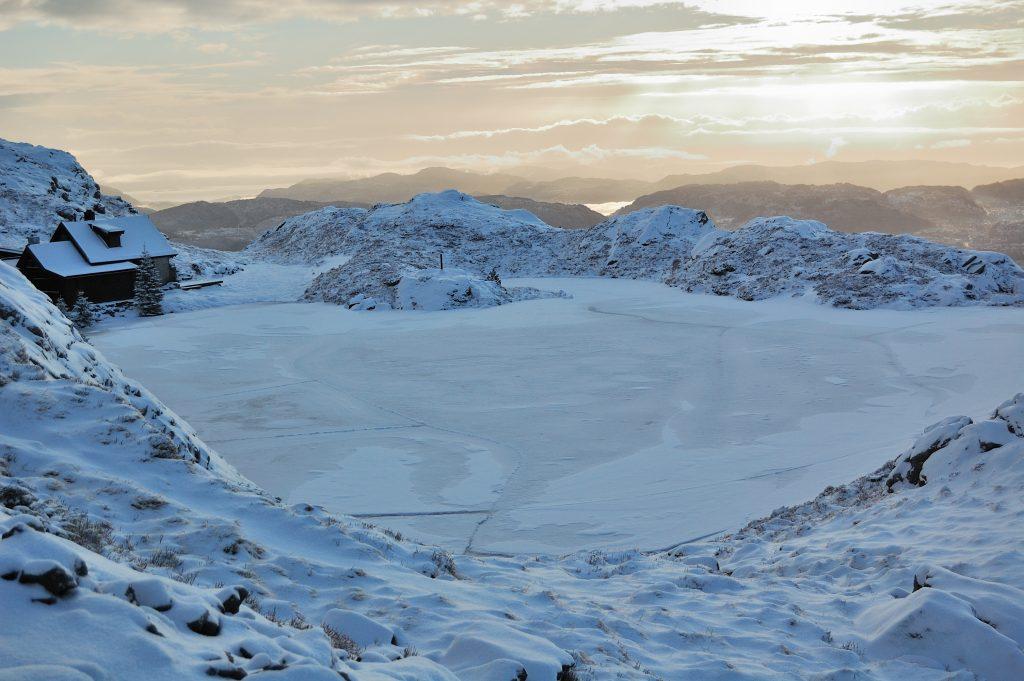 The Himalayan Frozen Lakes
