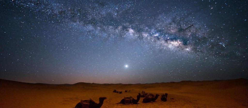 The Thar Desert at Night