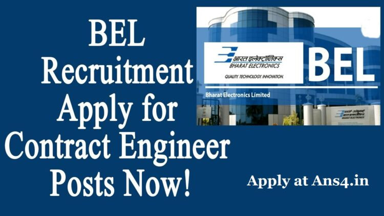 BEL Recruitment