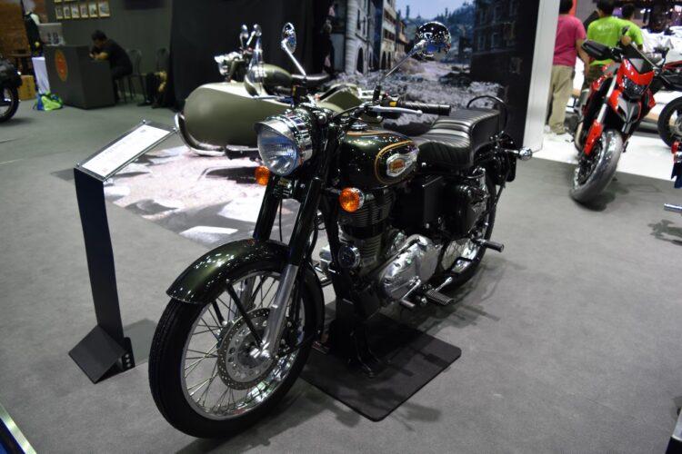 Royal Enfield Bullet Trials bikes