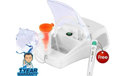 Dr Trust Bestest Plus Compressor Nebulizer Machine Kit