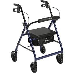 Drive Medical Aluminium Rollator Walker