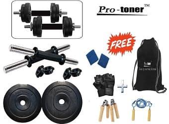 Protoner 10kg Adjustable Dumbbells