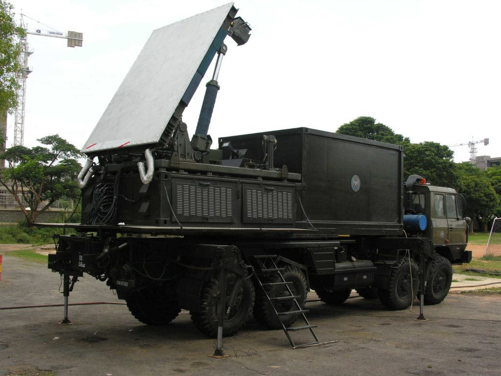 Weapon Locating Radar (WLR)