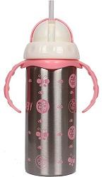 Ineffable Baby's 3 in 1 Multifunctional Steel Feeding Bottle