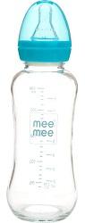 Mee Mee 240ml Premium Glass Feeding Bottle