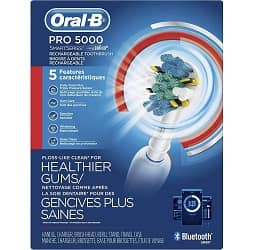 Oral B Pro 5000 Smart Series Power Rechargeable Electric Toothbrush