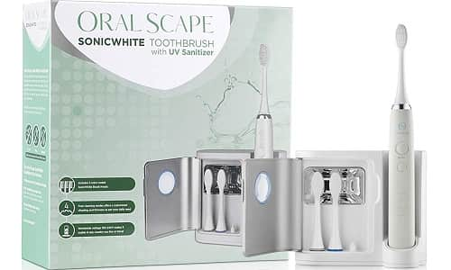 OralScape Sonicwhite Power Rechargeable Electric Waterproof Toothbrush