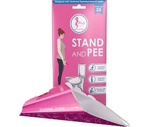 Sanfe - Pack of 20 Disposable Portable Urination