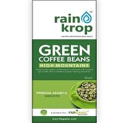 FARGANIC Rainkrop Organic Arabica Green Coffee