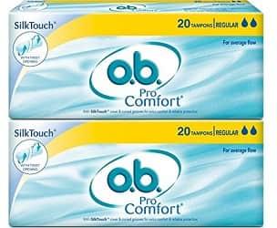B. pro comfort tampons
