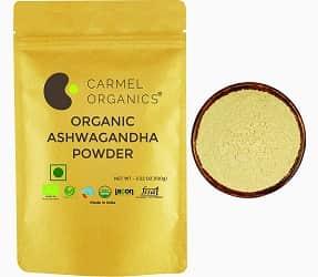 CARMEL ORGANICS Ashwagandha Powder