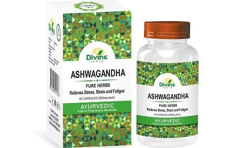 Divine India Ashwagandha Capsules