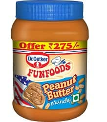 Funfoods Dr. Oetker Peanut Butter Crunchy