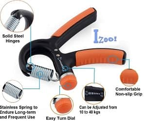 Izoo Adjustable Hand Gripper