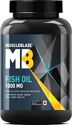 MuscleBlaze Omega 3 Fish Oil