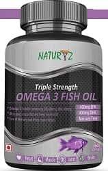 Naturyz Triple Strength Omega 3 Fish Oil