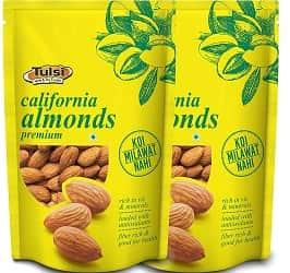 Sattva Life Tulsi California Almonds Premium