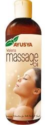 Ayusya Naturals Valeria Massage Oil