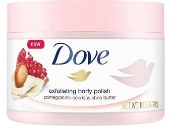 Dove Exfoliating Pomegranate and Shea Polish Body Scrub