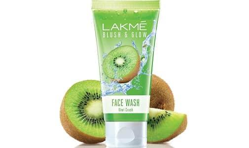 Lakme Blush and Glow Kiwi Freshness Gel Face Wash