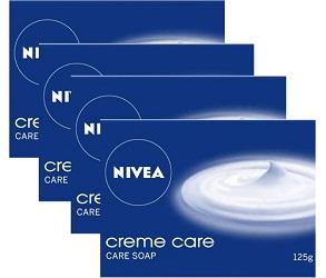 Nivea soap, cream care