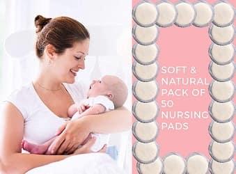 Upscale Disposable Nursing Pads