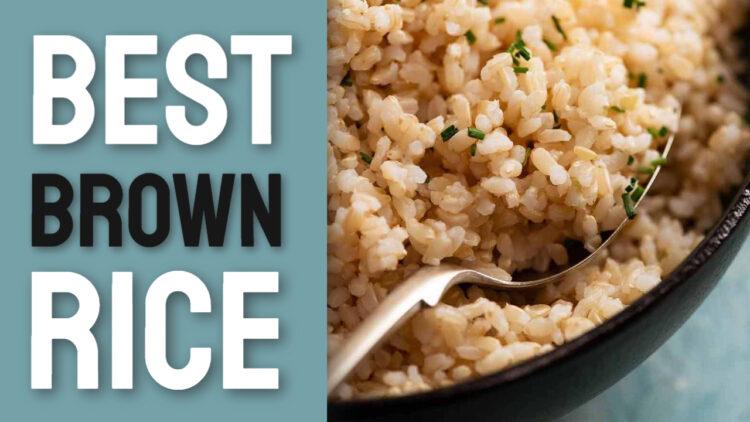 best brown rice