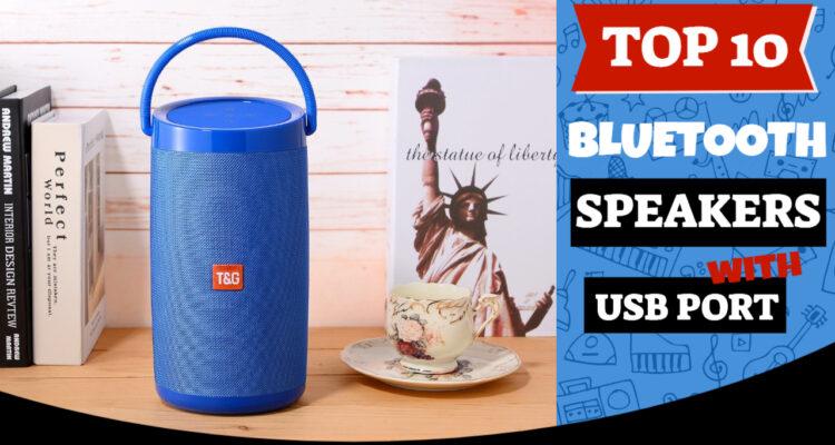 best bluetooth speakers usb port