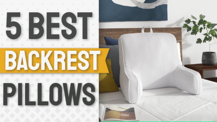 best backrest pillows